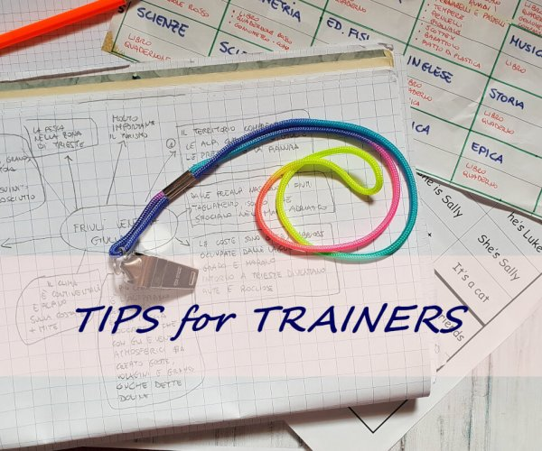 tips for trainers