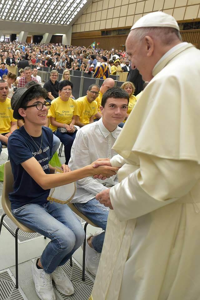 Lorenzo e il Papa