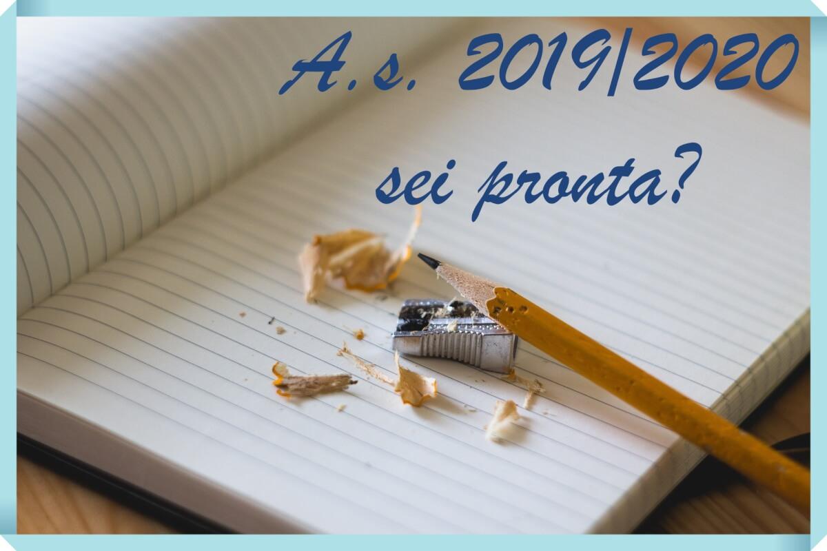 anno scolastico 2019-2020