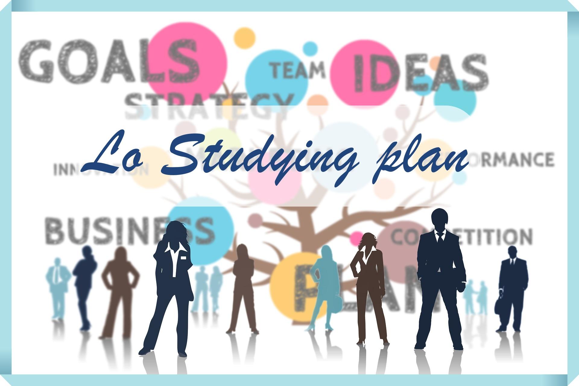 studying plan